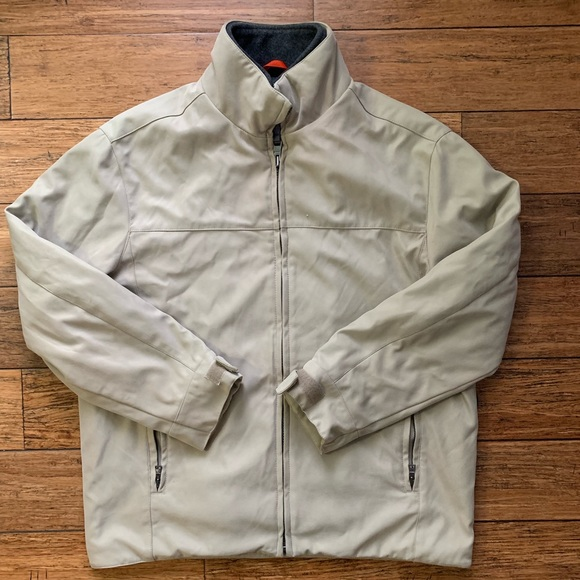 Andrew Marc Other - Tan Beige Double Layer Zip Up All Weather Jacket